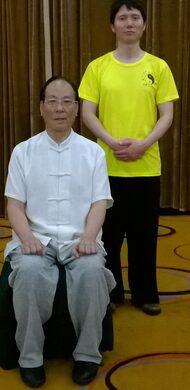 With Master Zhang Zhijun